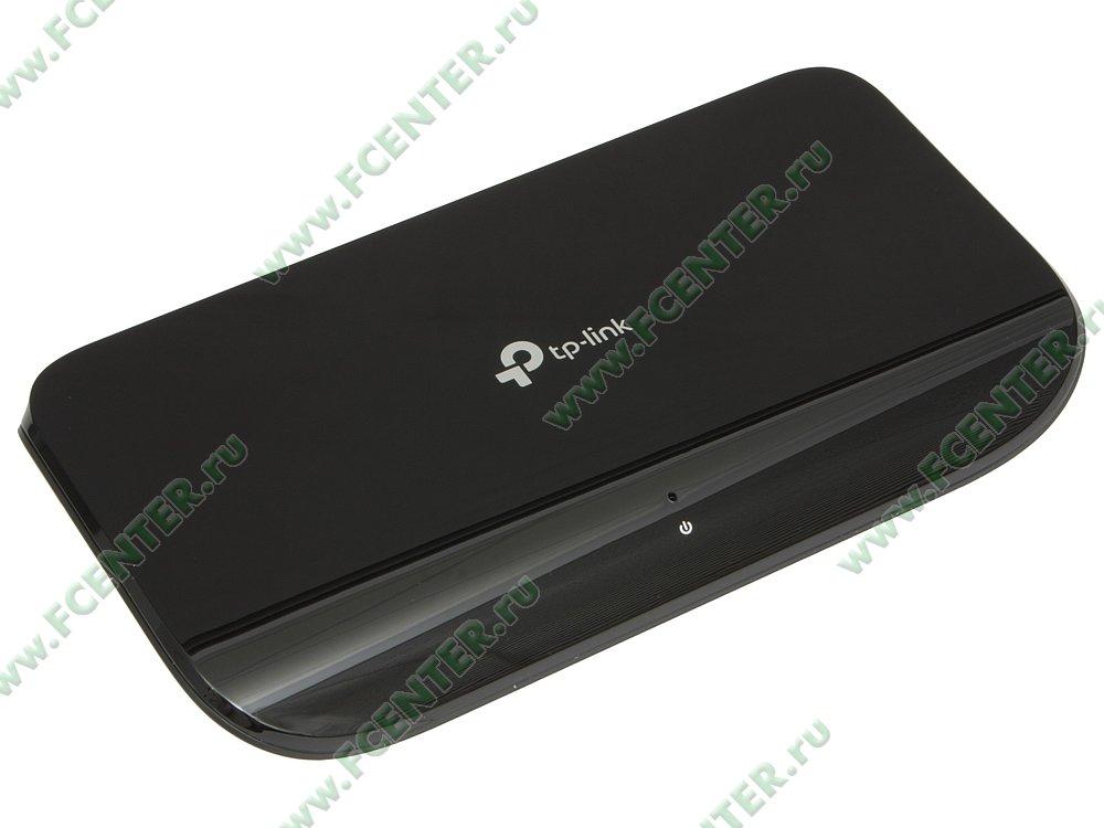 """Коммутатор TP-Link """"TL-SG1008D"""" 8 портов 1Гбит/сек.. Вид спереди."""
