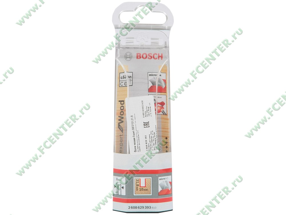Аксессуар к фрезерной машине Bosch 2608629393. Коробка 1.