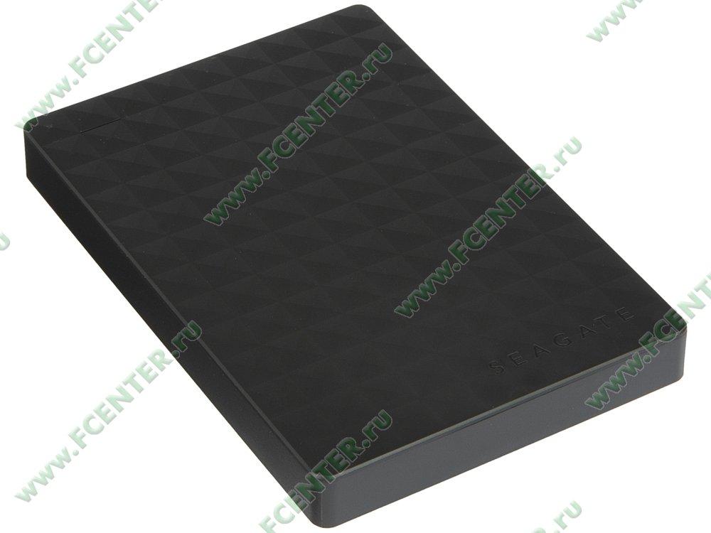 """Внешний жесткий диск 2ТБ Seagate """"STEA2000400"""" (USB3.0). Вид спереди."""