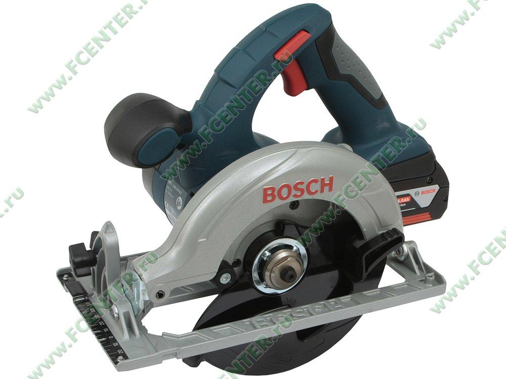 """Дисковая пила Bosch """"GKS 18 V-LI Professional"""". Вид спереди."""