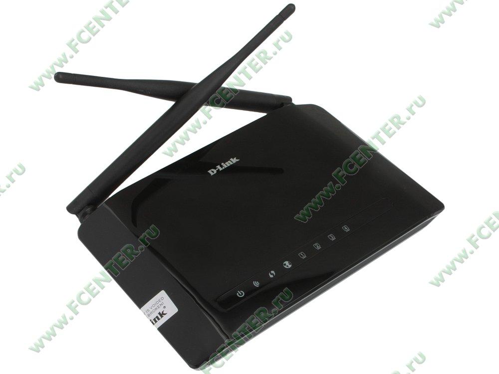 """Беспроводной маршрутизатор D-Link """"DIR-615S/A1A"""". Вид спереди."""