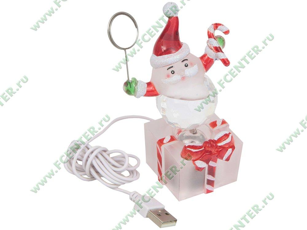 "Игрушка ORIENT ""Дед Мороз"", светящаяся (USB). Вид спереди."