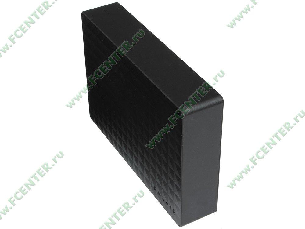 """Внешний жесткий диск 4ТБ Seagate """"STEB4000200"""" (USB3.0). Вид спереди."""
