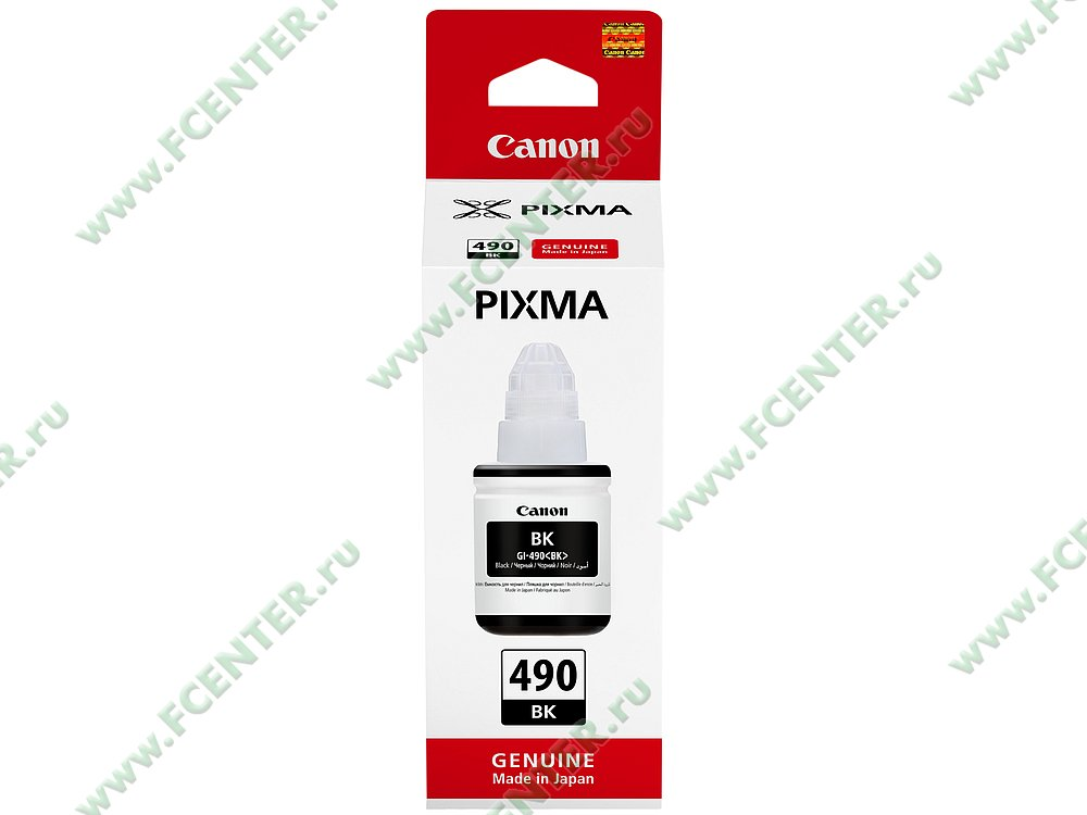 "Картридж Canon ""GI-490"" (черный). Фото производителя."