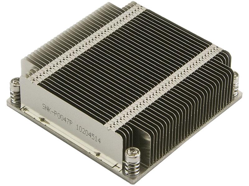 """Радиатор для процессора Supermicro """"SNK-P0047P"""". Фото производителя."""