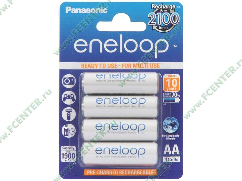 """Аккумулятор Panasonic """"eneloop"""". Коробка."""