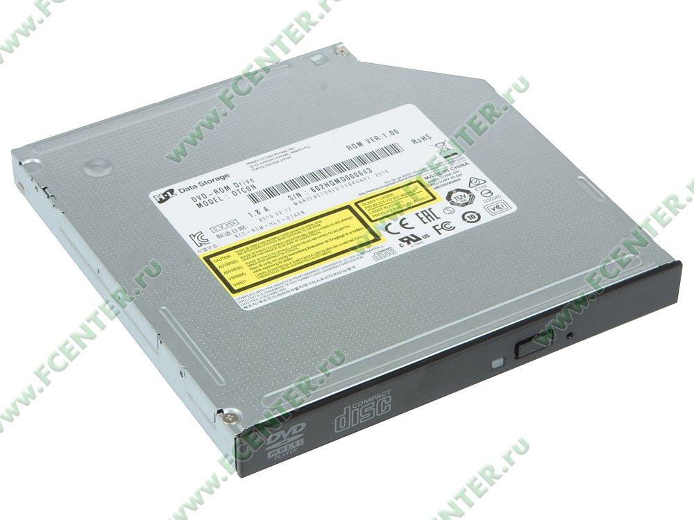"""Привод DVD-ROM Привод DVD LG """"DTC0N"""" (SATA). Вид спереди 1."""