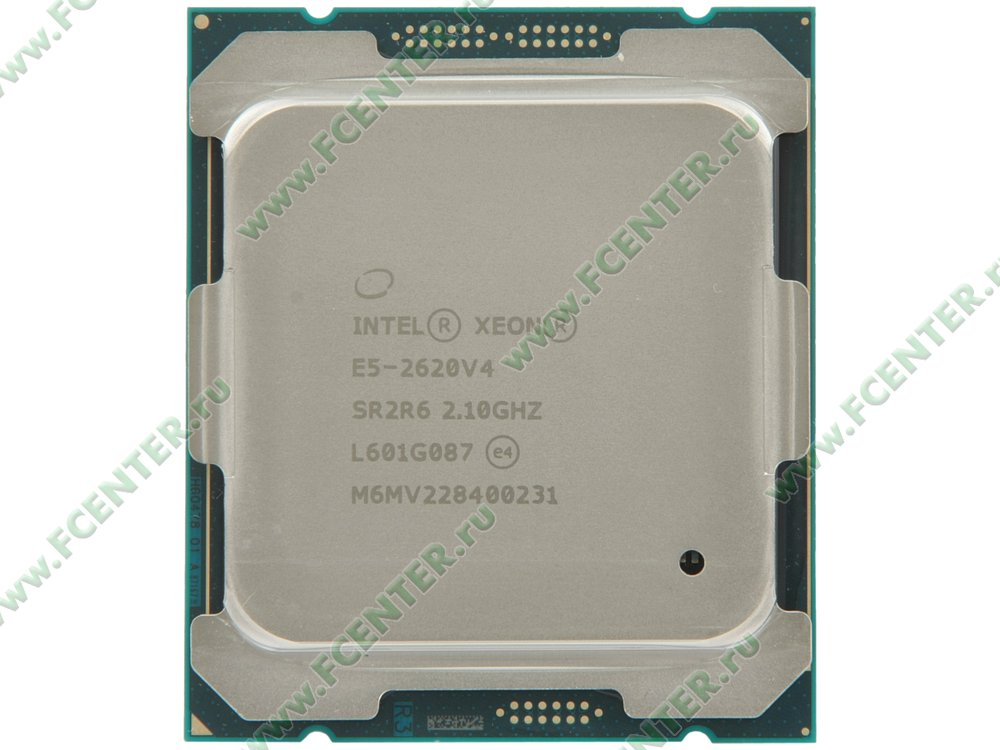 "Процессор Intel ""Xeon E5-2620V4"" Socket2011-v3. Вид сверху."