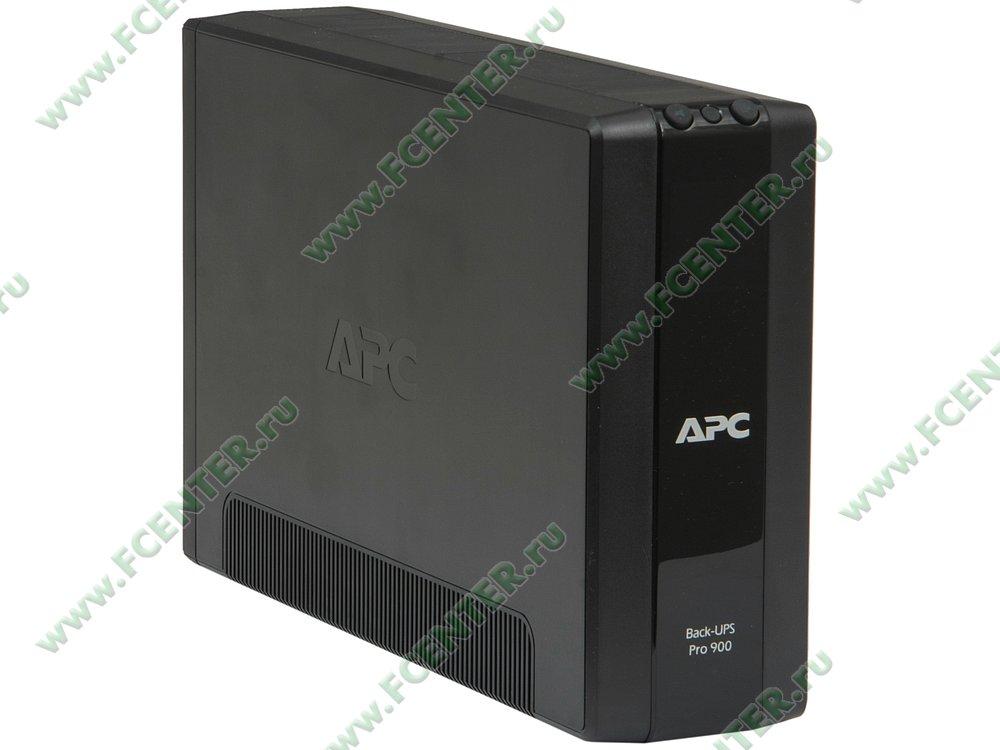 """Источник бесперебойного питания 900ВА APC """"Back-UPS Pro 900"""" (USB). Вид спереди."""