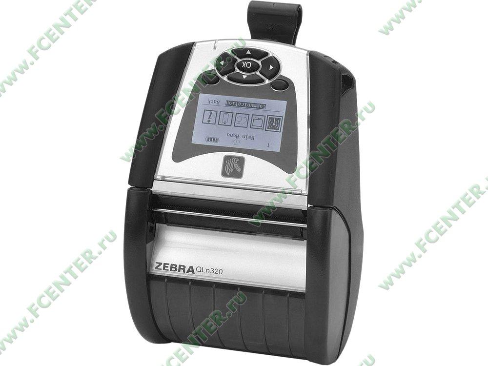 "Термопринтер Zebra ""QLn320"" (WiFi, Bluetooth). Фото производителя."