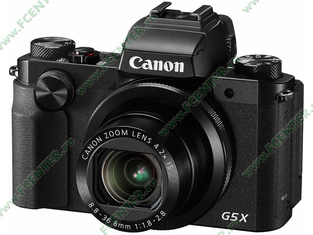 "Фотоаппарат Canon ""PowerShot G5 X"". Фото производителя."