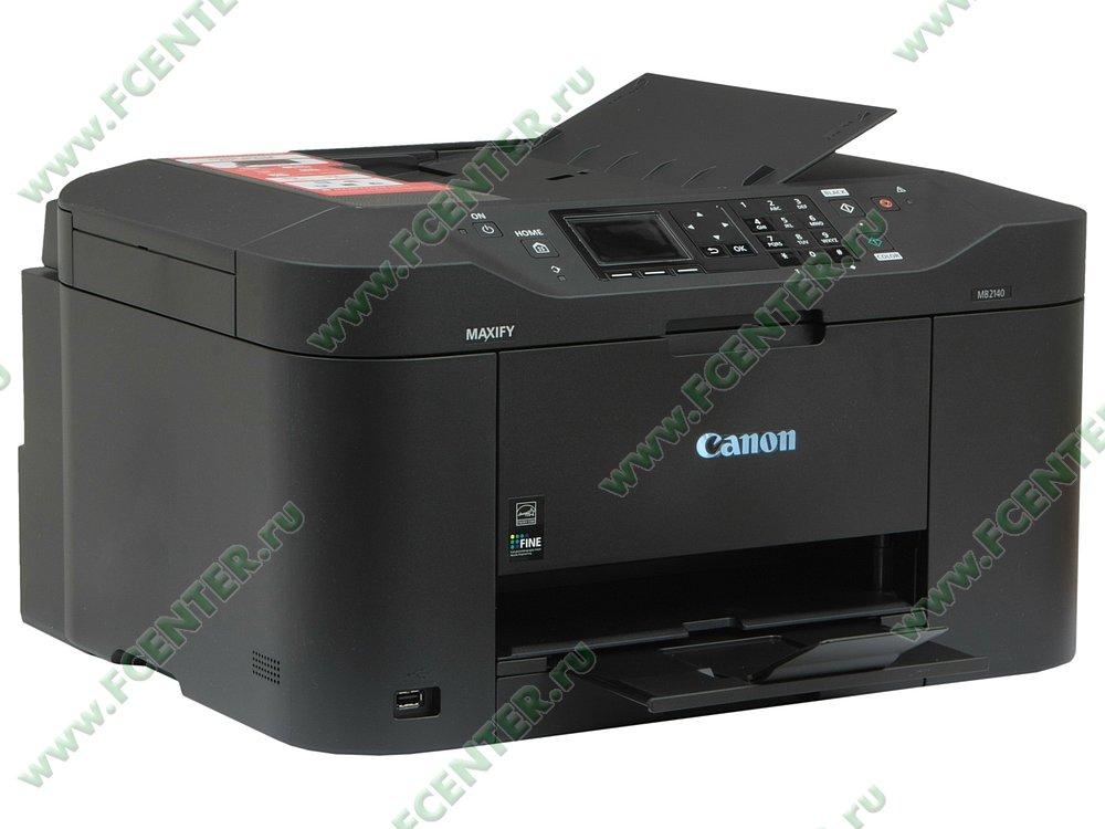 """Многофункциональное устройство Canon """"MAXIFY MB2140"""" (USB2.0, WiFi). Вид спереди 1."""
