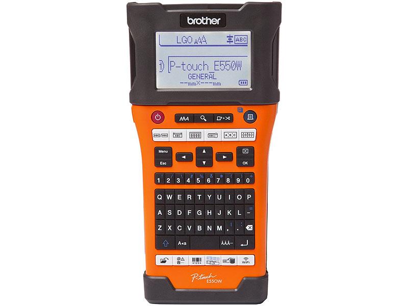 """Термотрансферный принтер Brother """"PT-E550WVP"""" (USB, WiFi). Фото производителя 1."""