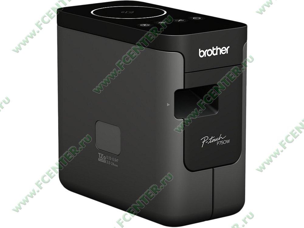 """Термотрансферный принтер Brother """"PT-P750W"""" (USB2.0, WiFi). Фото производителя."""