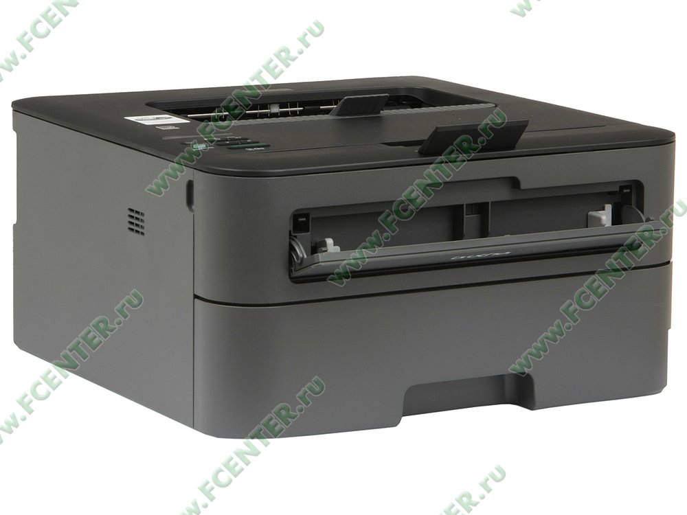 """Лазерный принтер Brother """"HL-L2360DNR"""" A4 (USB2.0, LAN). Вид спереди."""