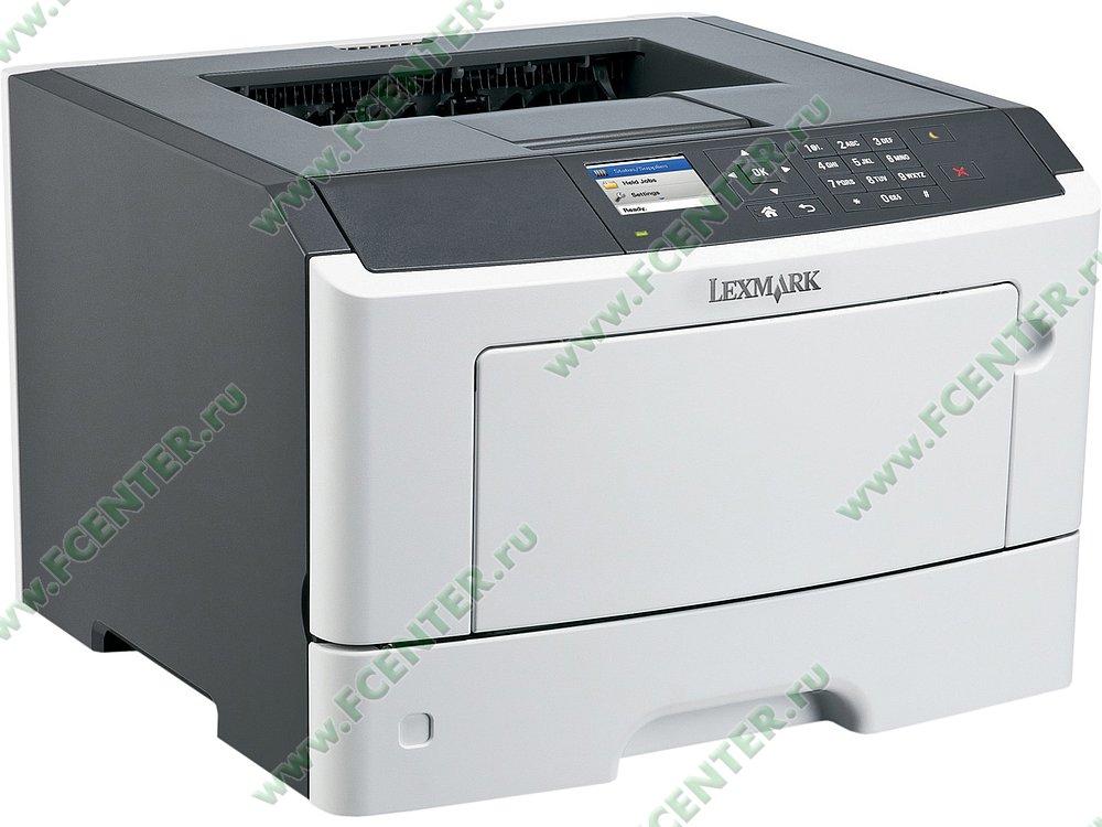 """Лазерный принтер Lexmark """"MS510dn"""" A4 (USB2.0, LAN). Фото производителя."""