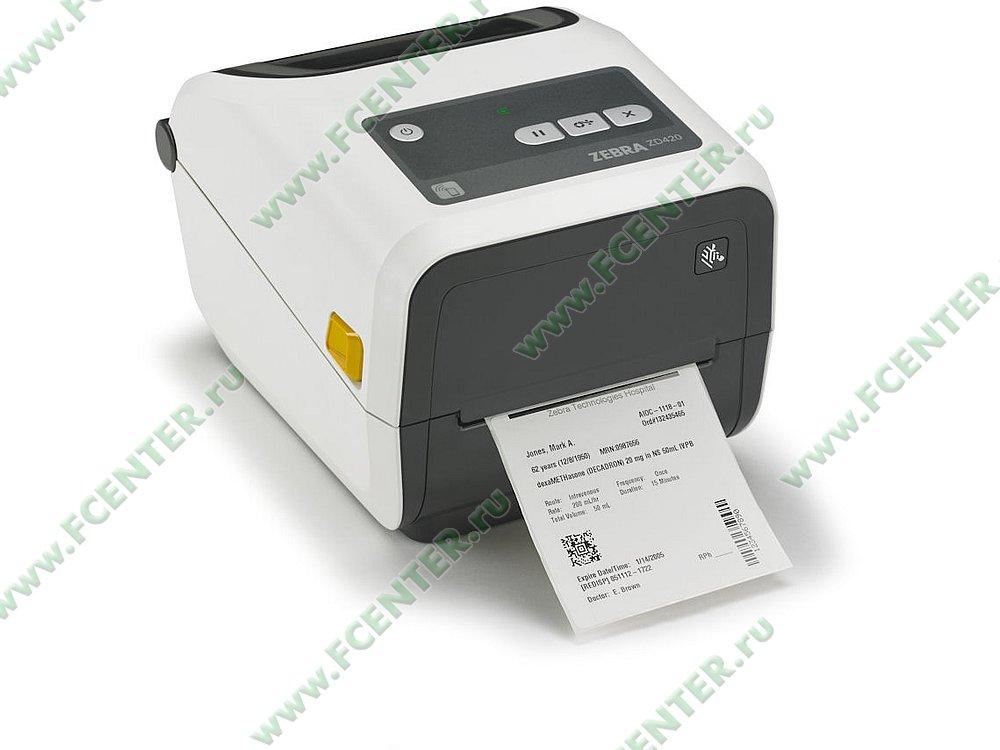 """Термотрансферный принтер Zebra """"ZD420"""" (USB, Bluetooth). Фото производителя."""