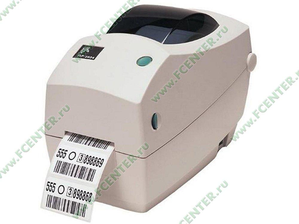 """Термотрансферный принтер Zebra """"ТLP 2824"""" (COM, USB). Фото производителя."""