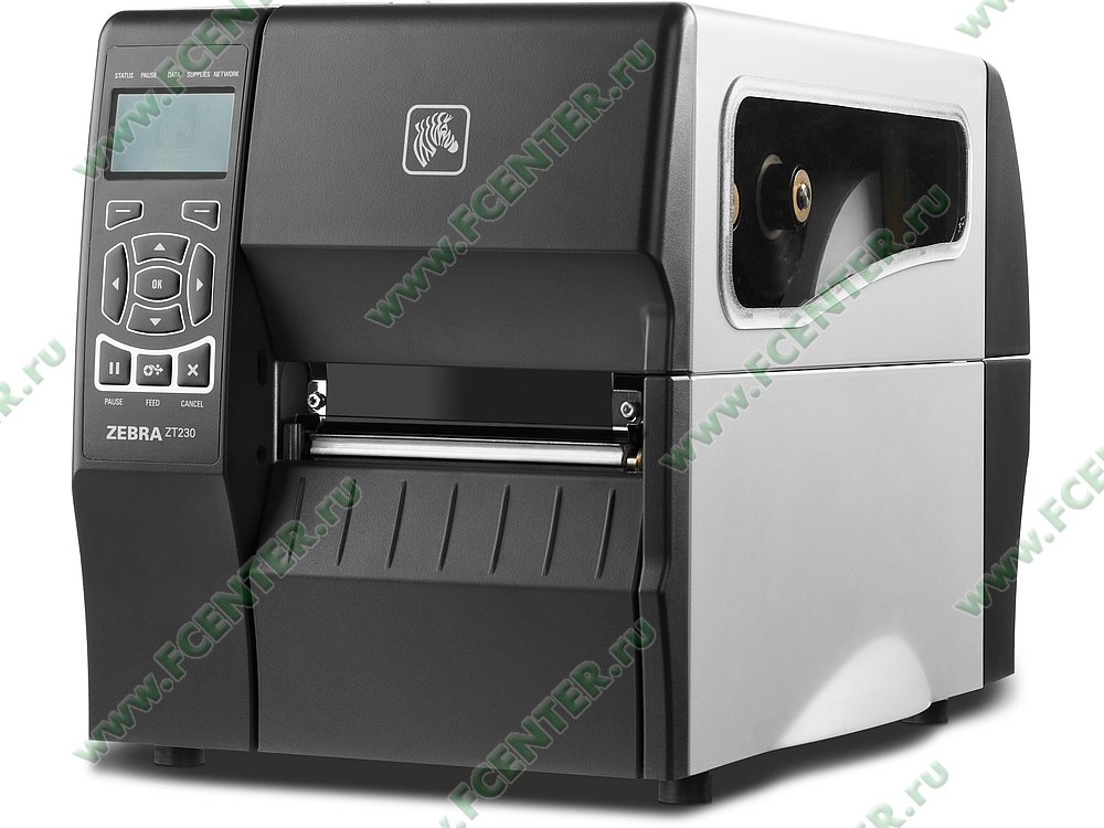 "Термопринтер Zebra ""ZT230"" (COM, USB, LAN). Фото производителя."