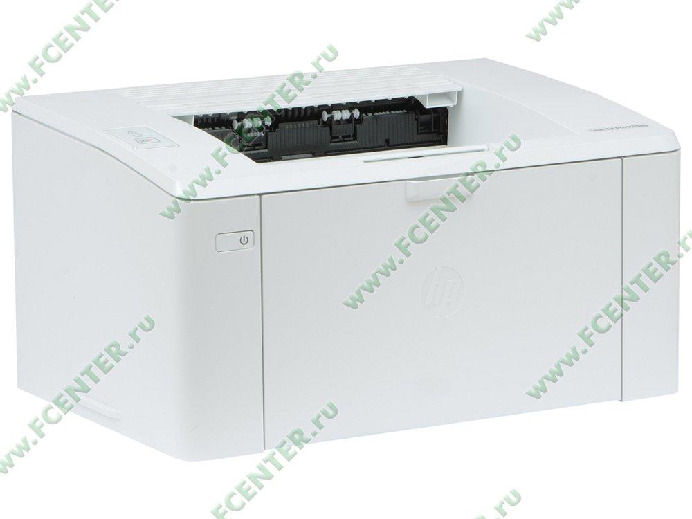 """Лазерный принтер HP """"LaserJet Pro M104a"""" A4 (USB2.0). Вид спереди 1."""