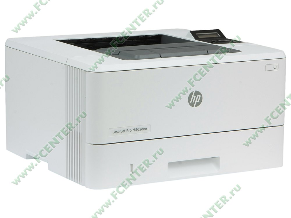 """Лазерный принтер HP """"LaserJet Pro M402dne"""" A4 (USB2.0, LAN). Вид спереди 1."""