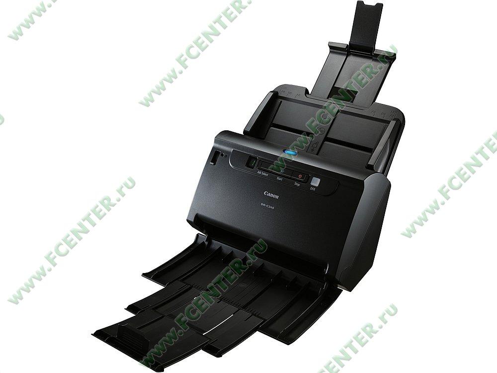 """Сканер Canon """"imageFORMULA DR-C240"""" A4 (USB2.0). Фото производителя."""