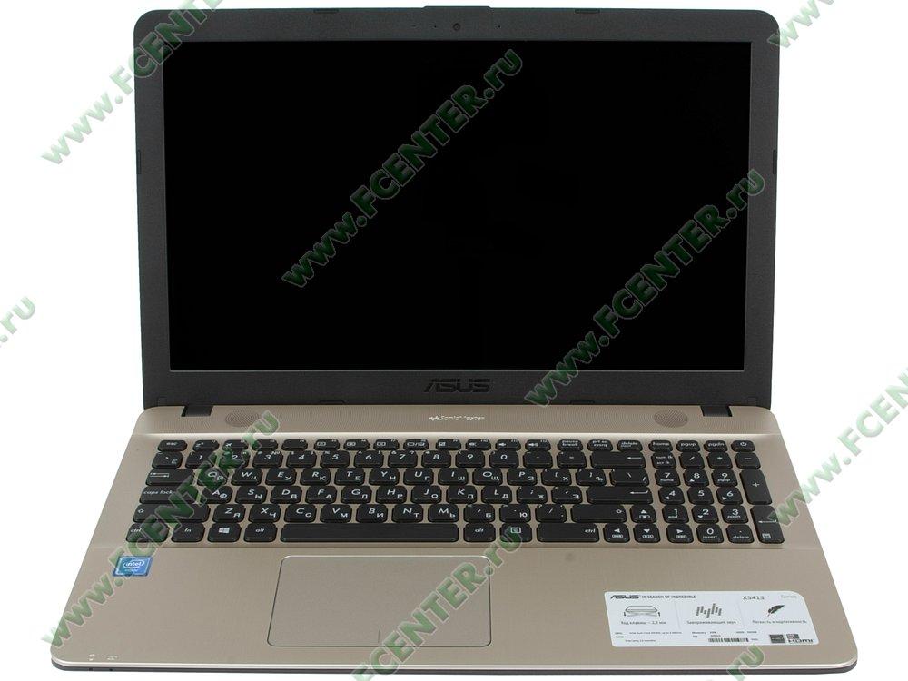 """Ноутбук ASUS """"X541SA"""". Вид cпереди 1."""