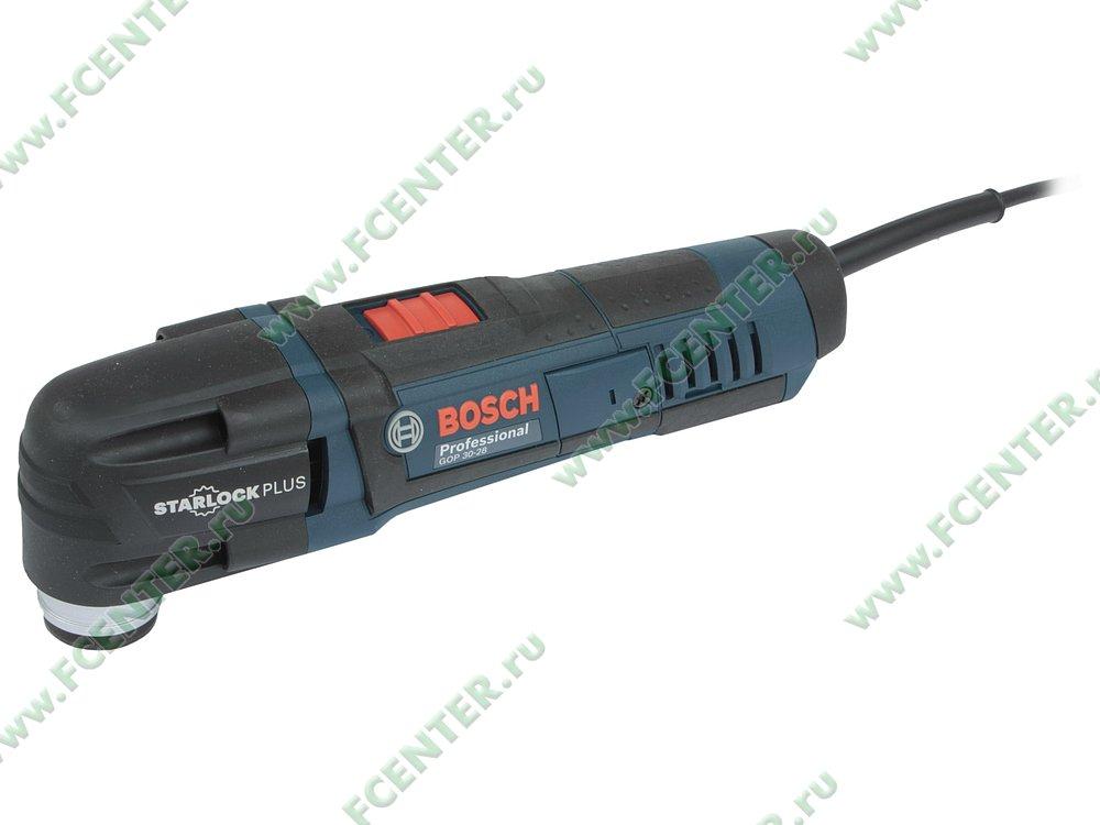 """Многофункциональный инструмент Bosch """"GOP 30-28 Professional"""". Вид спереди."""