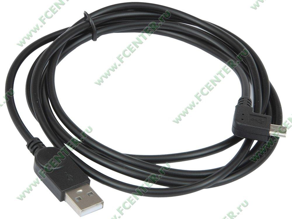 """Кабель USB2.0 ORIENT """"MU-215B1"""" (1.5м). Вид спереди."""