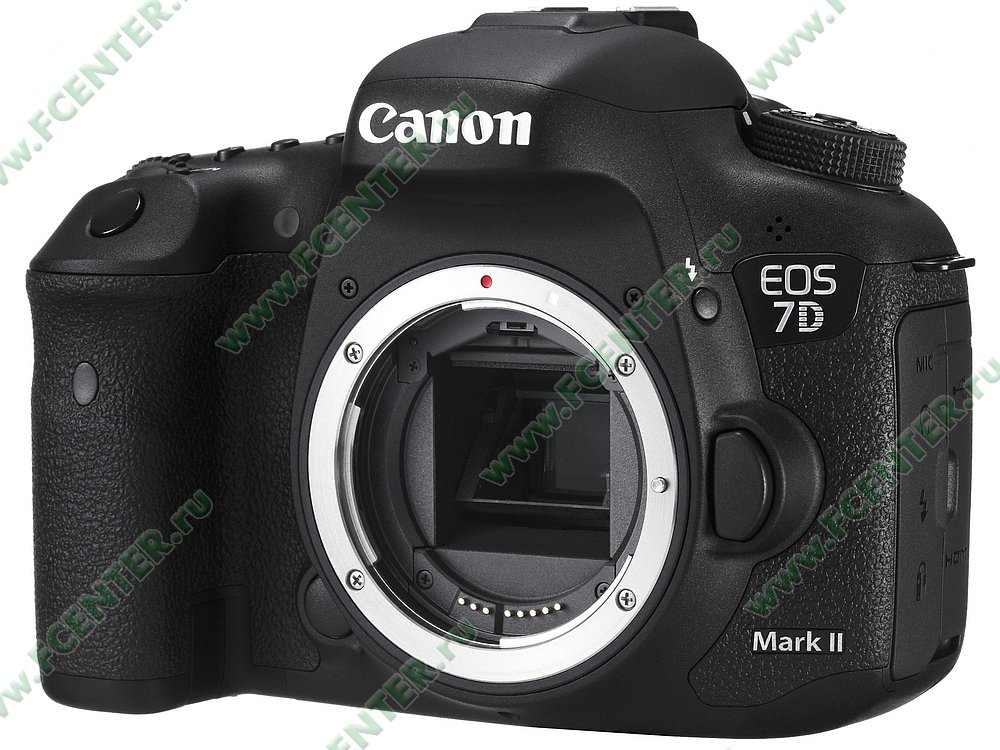 "Фотоаппарат Canon ""EOS 7D Mark II Body"". Фото производителя."
