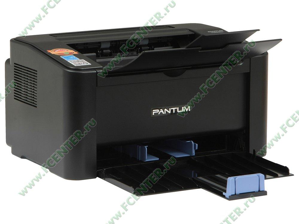 """Лазерный принтер Лазерный принтер Pantum """"P2500W"""" A4, 1200x1200dpi, черный . Вид спереди 1."""