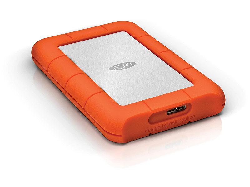 "Внешний жесткий диск 1ТБ LaCie ""Rugged Mini"" (USB3.0). Фото производителя."