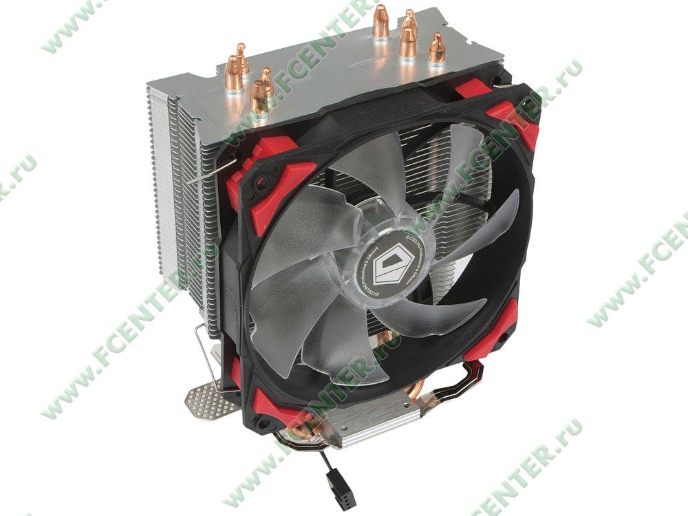 """Кулер для процессора ID-Cooling """"SE-214"""". Вид спереди 1."""
