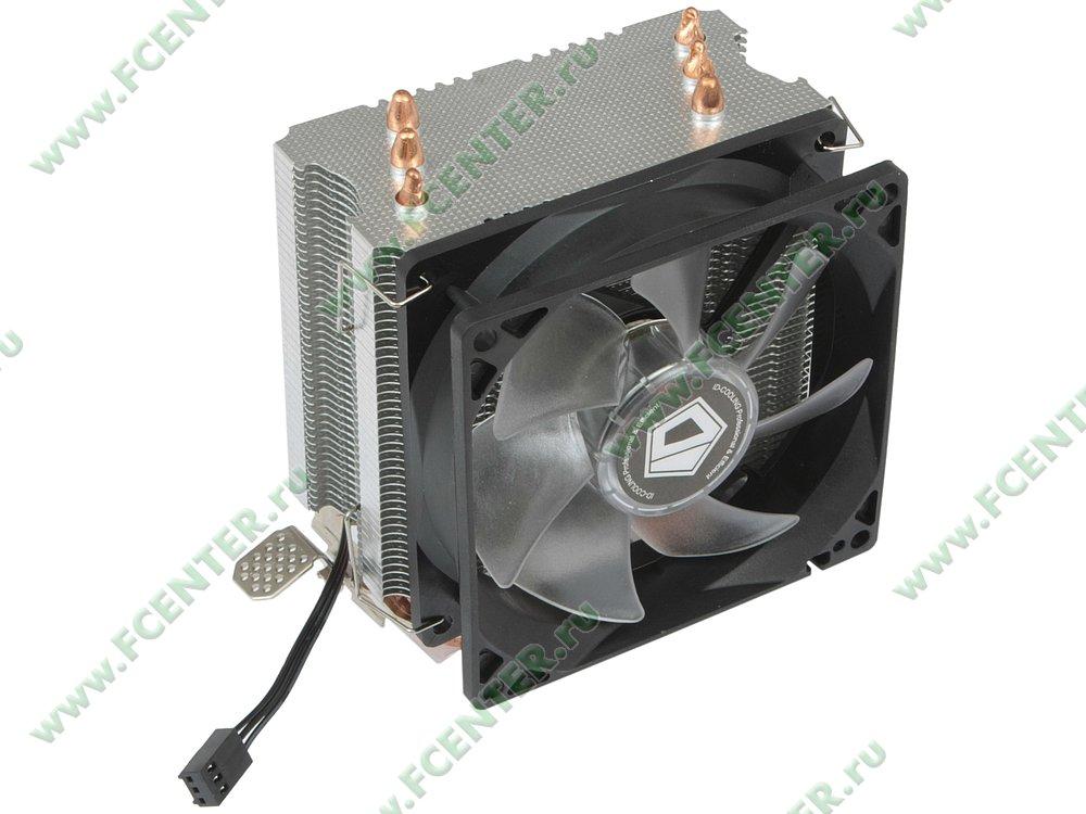 """Кулер для процессора ID-Cooling """"SE 903"""". Вид спереди 1."""