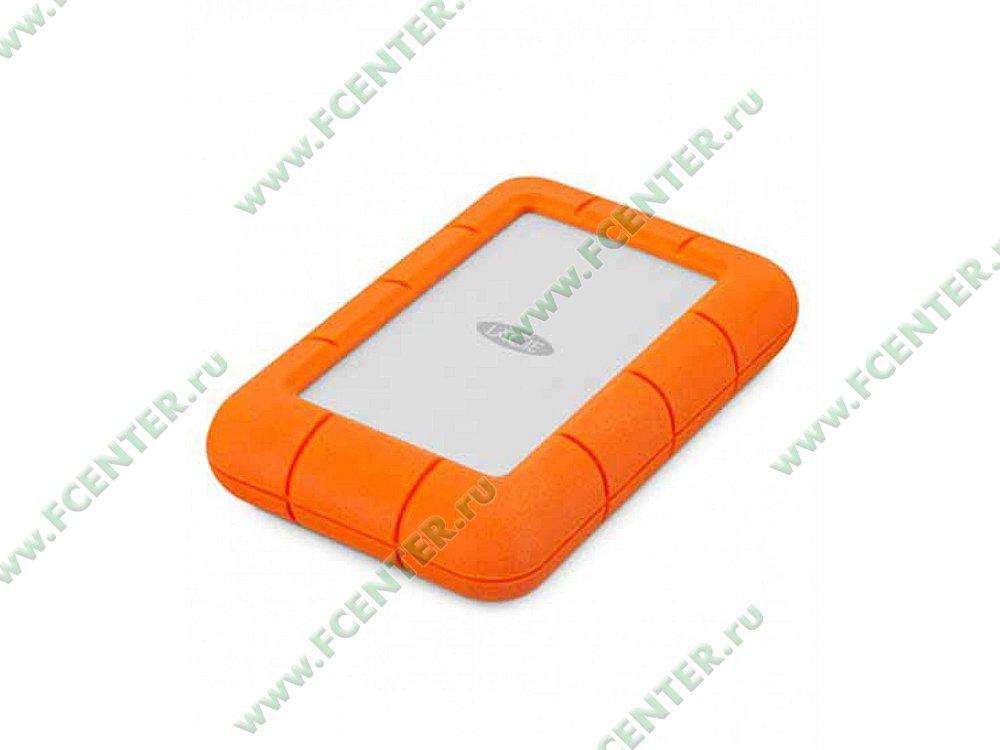 "Внешний жесткий диск 2ТБ LaCie ""Rugged Mini"" (USB3.0). Фото производителя."