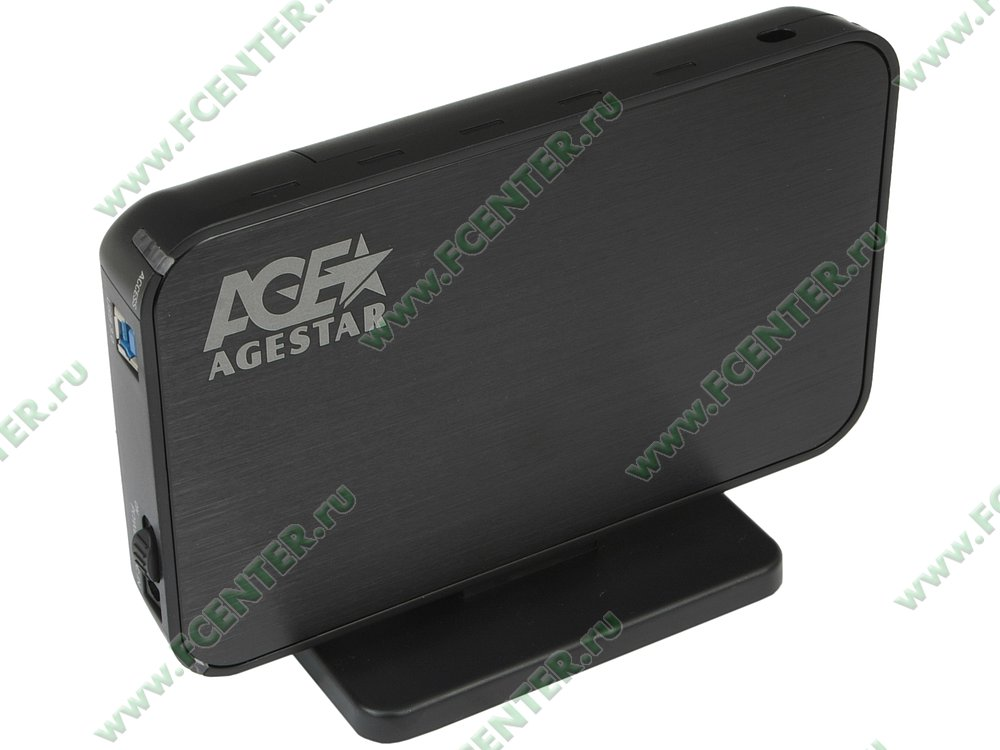 """Контейнер Контейнер Agestar """"3UB3A8-6G"""" (USB3.0). Вид спереди 1."""