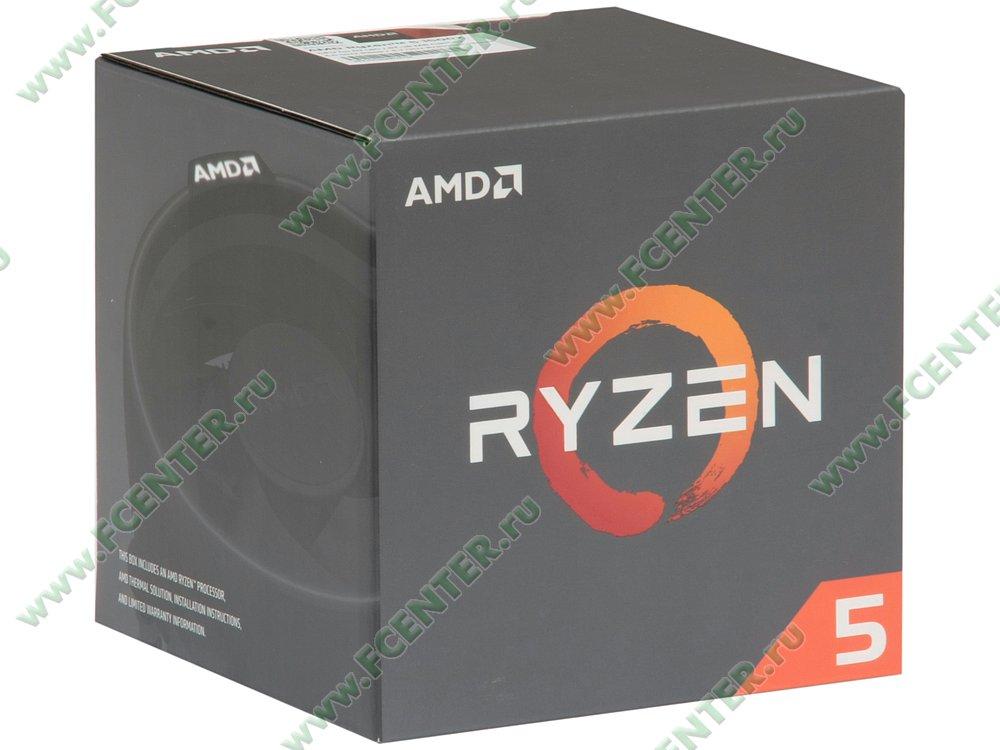 """Процессор AMD """"Ryzen 5 1500X"""" SocketAM4. Коробка."""
