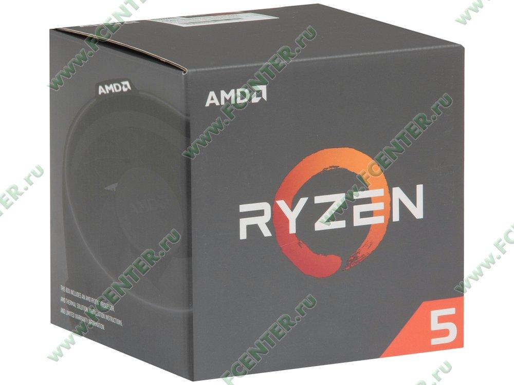"Процессор AMD ""Ryzen 5 1400"" SocketAM4. Коробка."