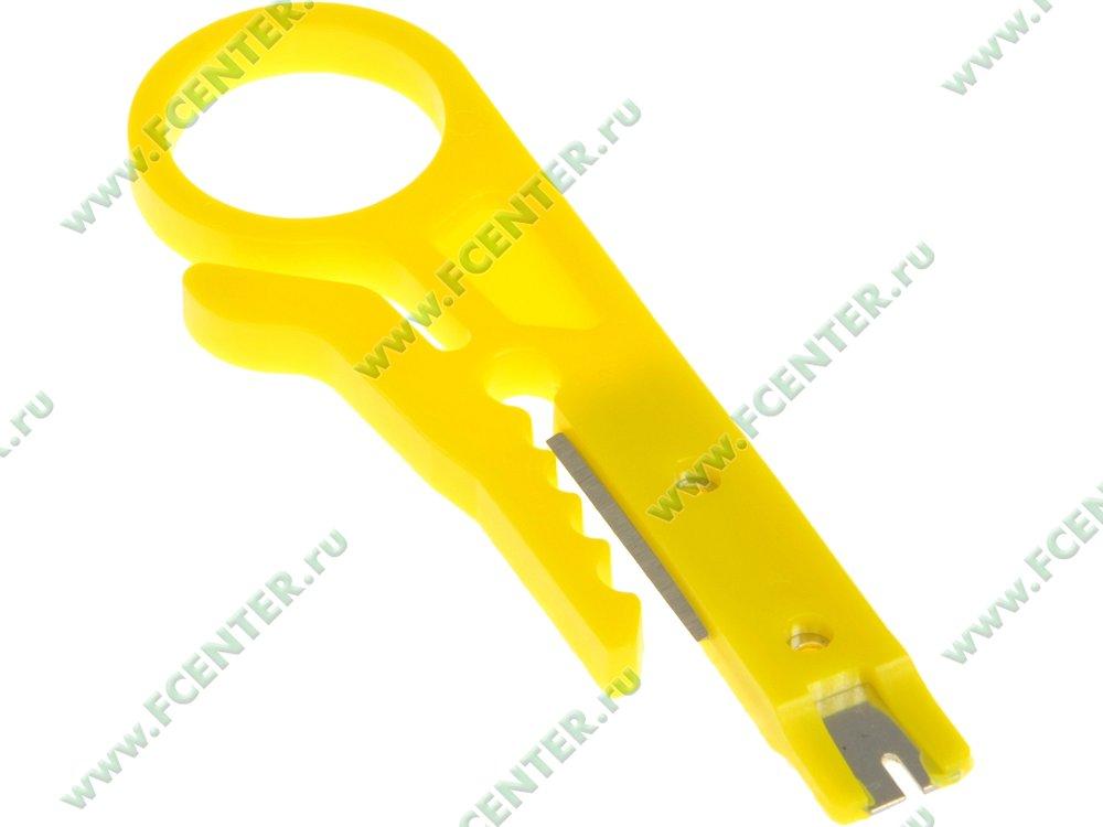 """Инструмент для зачистки кабеля Espada """"HT-318M"""". Вид спереди."""