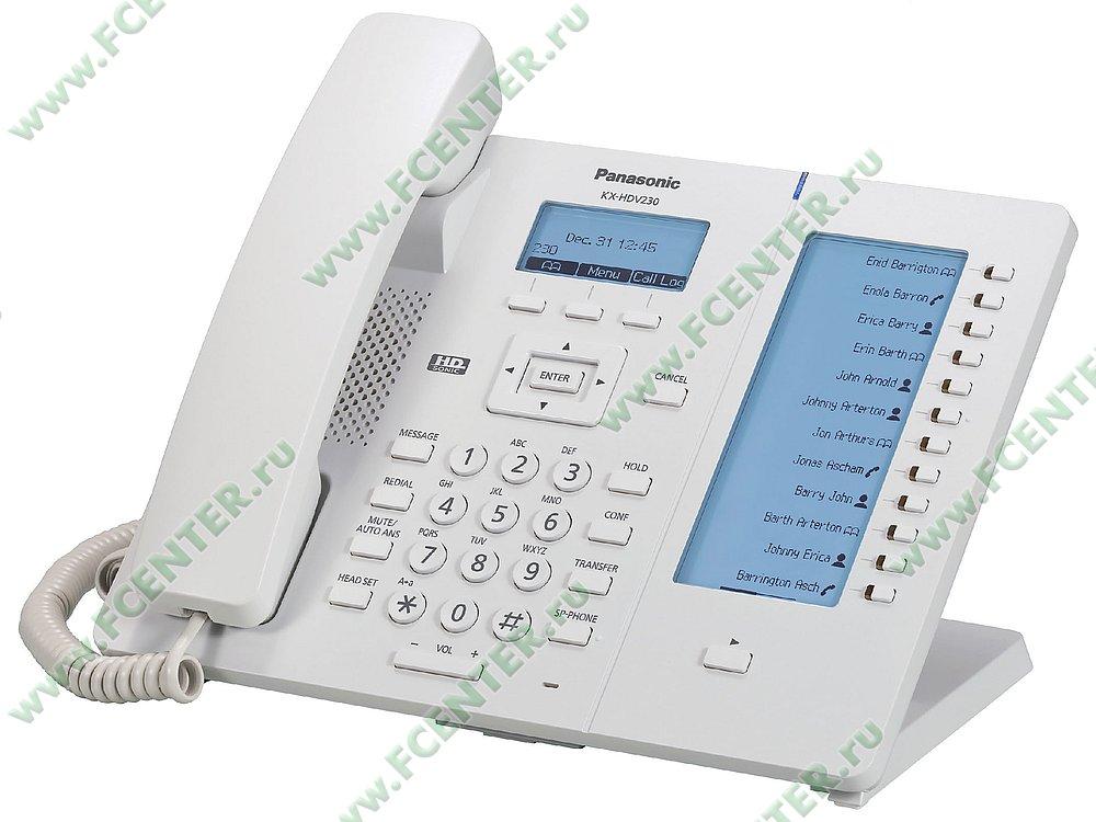 """VoIP-телефон VoIP-телефон Panasonic """"KX-HDV230RU"""". Фото производителя."""