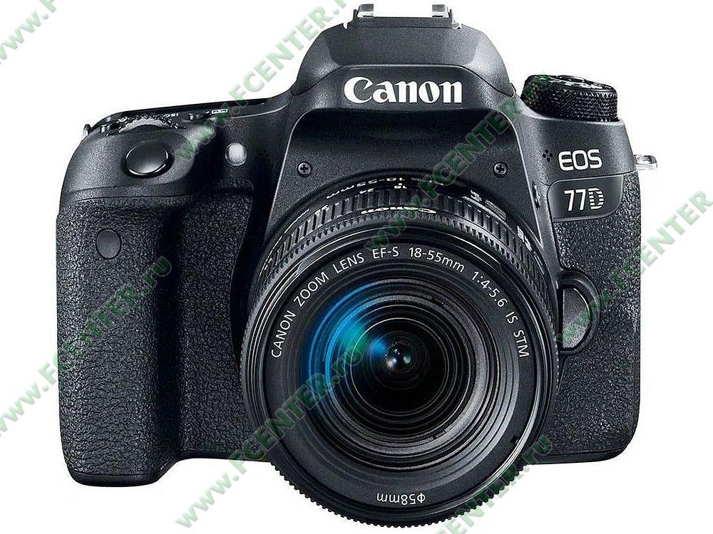 "Фотоаппарат Canon ""EOS 77D Kit"". Фото производителя."