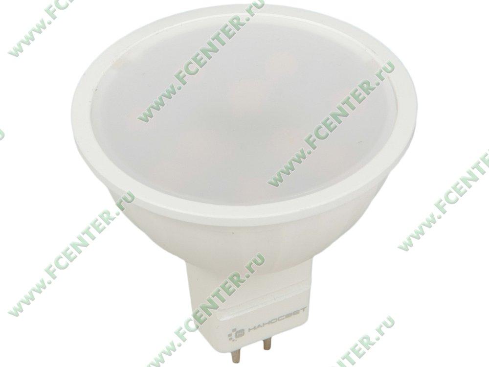 """Лампа светодиодная Наносвет """"LE-MR16A-6/GU5.3/827"""" ART.L194. Вид спереди."""