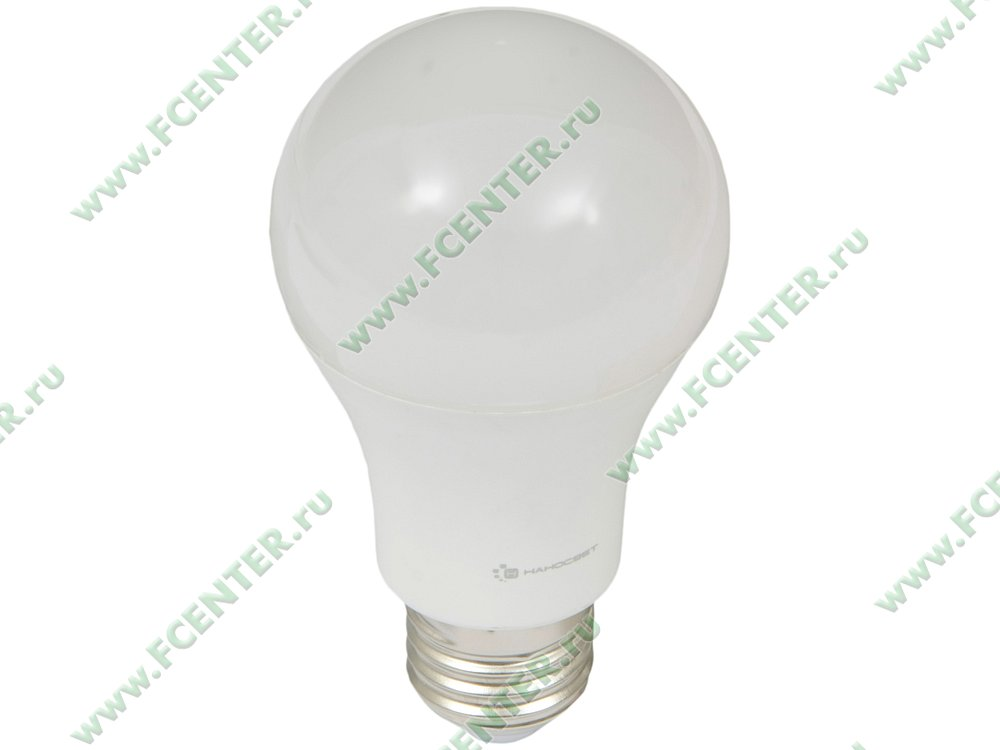 """Лампа светодиодная Наносвет """"LC-GLS-15/E27/840"""" ART.L197. Вид спереди."""