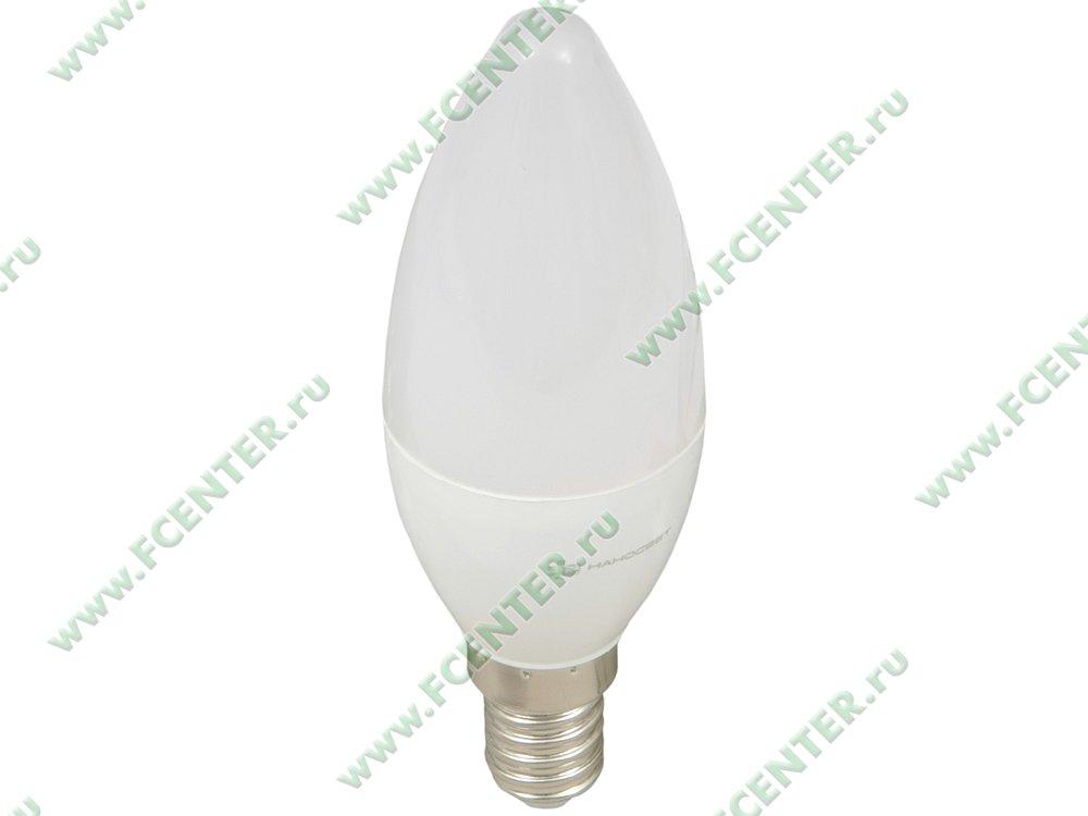 """Лампа светодиодная Наносвет """"LE-CD-6/E14/840"""" ART.L251. Вид спереди."""