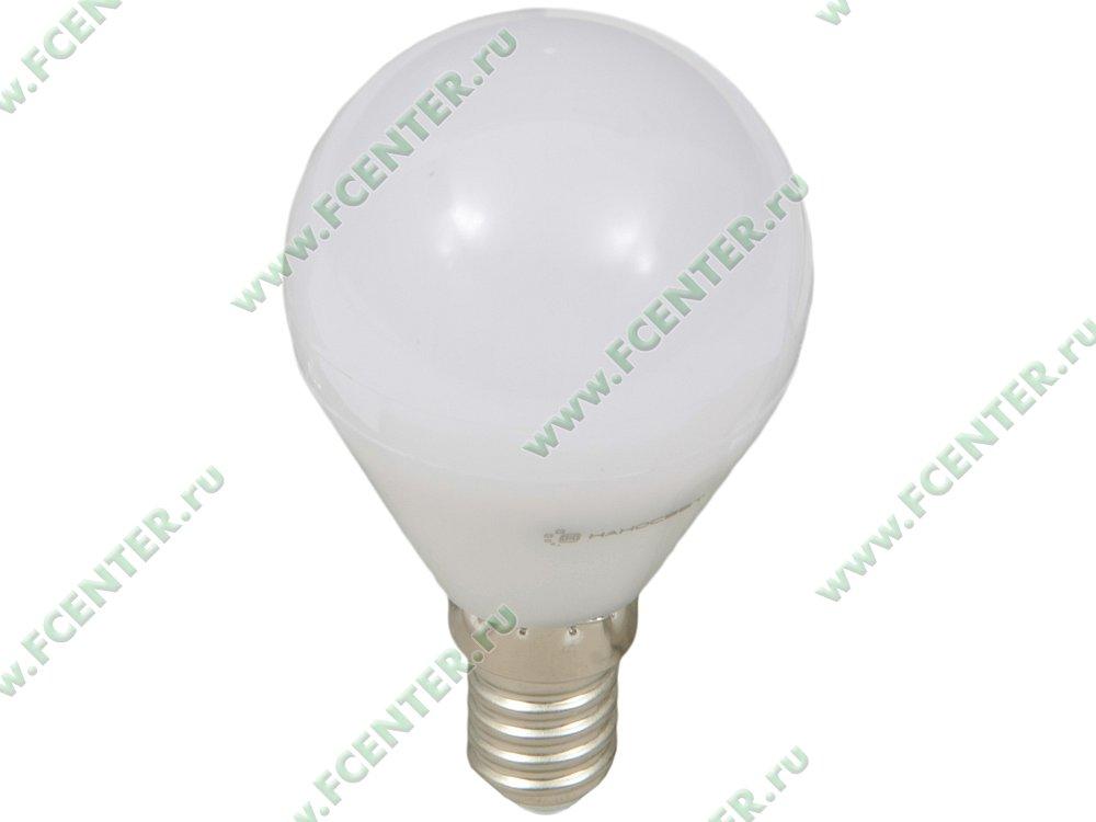 """Лампа светодиодная Наносвет """"LE-P45-6.5/E14/840"""" ART.L130. Вид спереди."""