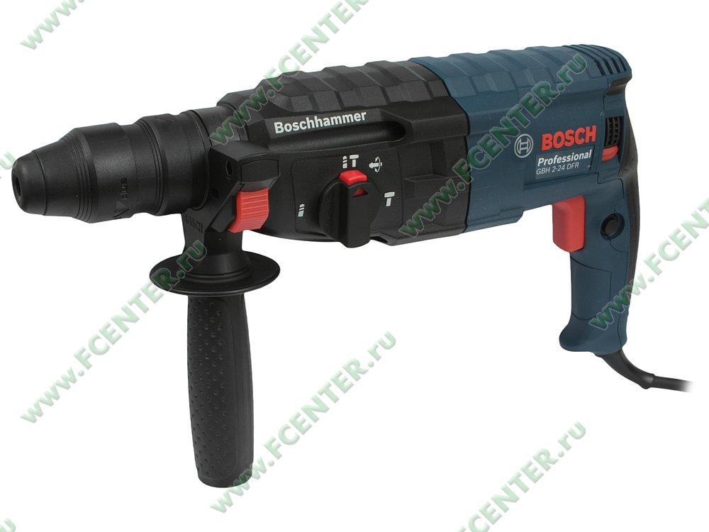 "Перфоратор Bosch ""GBH 2-24 DFR Professional"". Вид спереди."