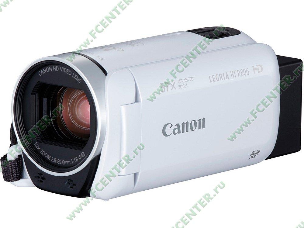 """Видеокамера Canon """"Legria HF R806"""". Фото производителя."""
