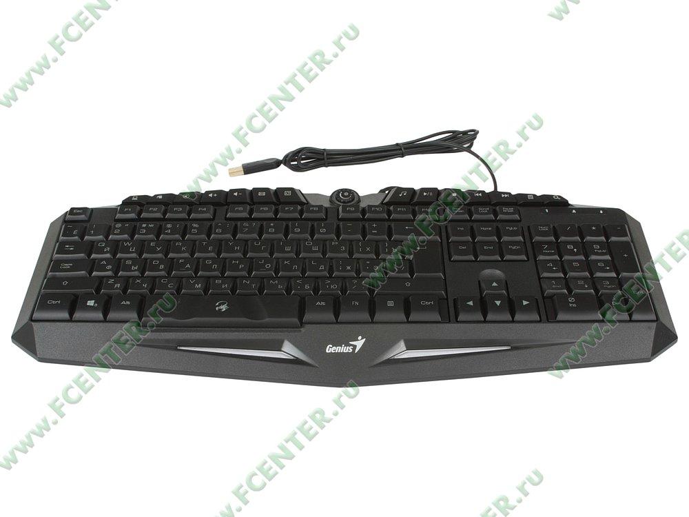 """Клавиатура Genius """"Scorpion K9"""" (USB). Вид спереди."""