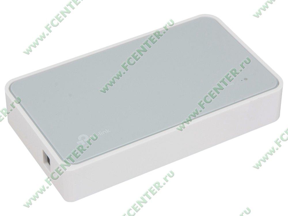 """Коммутатор TP-Link """"TL-SF1008D"""" 8 портов 100Мбит/сек.. Вид спереди."""