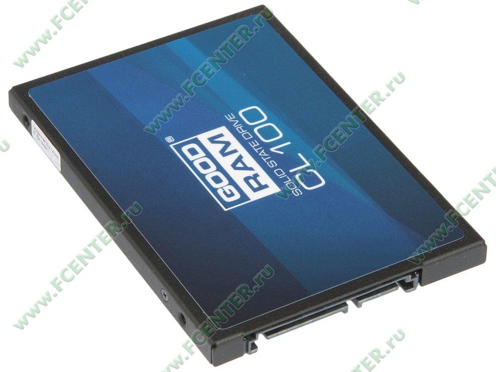 "SSD диск 240ГБ 2.5"" GOODRAM ""CL100"" (SATA III). Вид спереди."